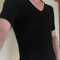 sasuke加圧シャツの着用感