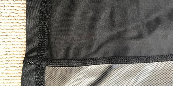 ビダンザゴーストの縫い目