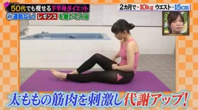 筋肉を刺激する