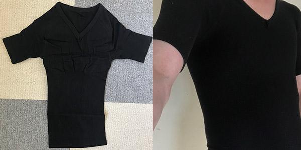 sasuke加圧シャツのデザイン